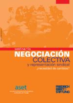 Negociación colectiva y representación sindical